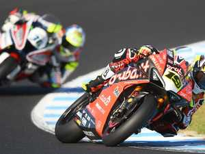 Bautista clinches hat-trick, champ Rea second