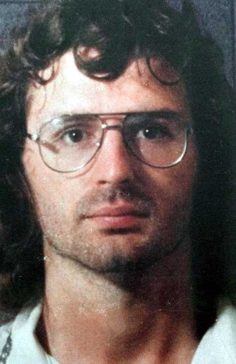 Branch Davidian leader David Koresh is shown in this police line-up in 1987.