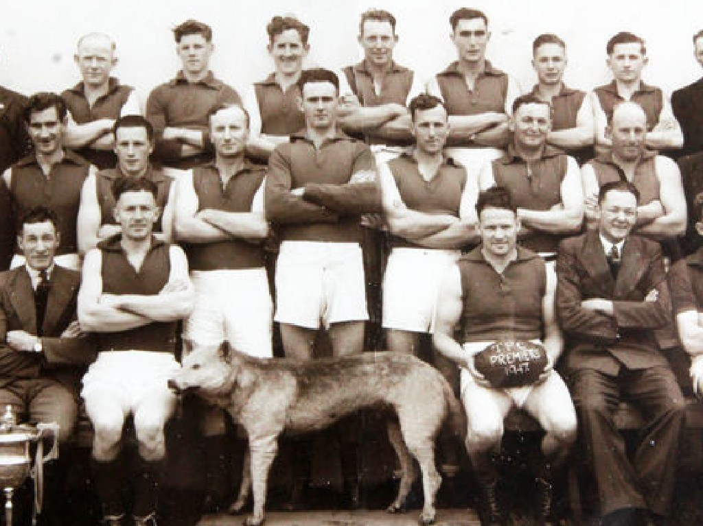 The Tantanoola tiger became the mascot for the local football team