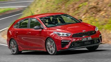 Kia Cerato GT: At $32K, substantially cheaper than the regulation hot hatches