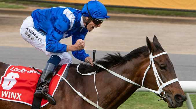 Winx will end on 37 wins if she takes her final three races.