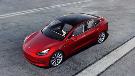 Tesla Model 3: Due in Australia in the latter half of the year.