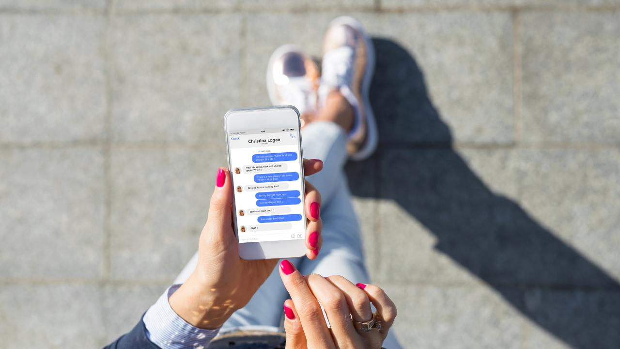 Lydia's own phone led to the demise of her marriage. Picture: iStock