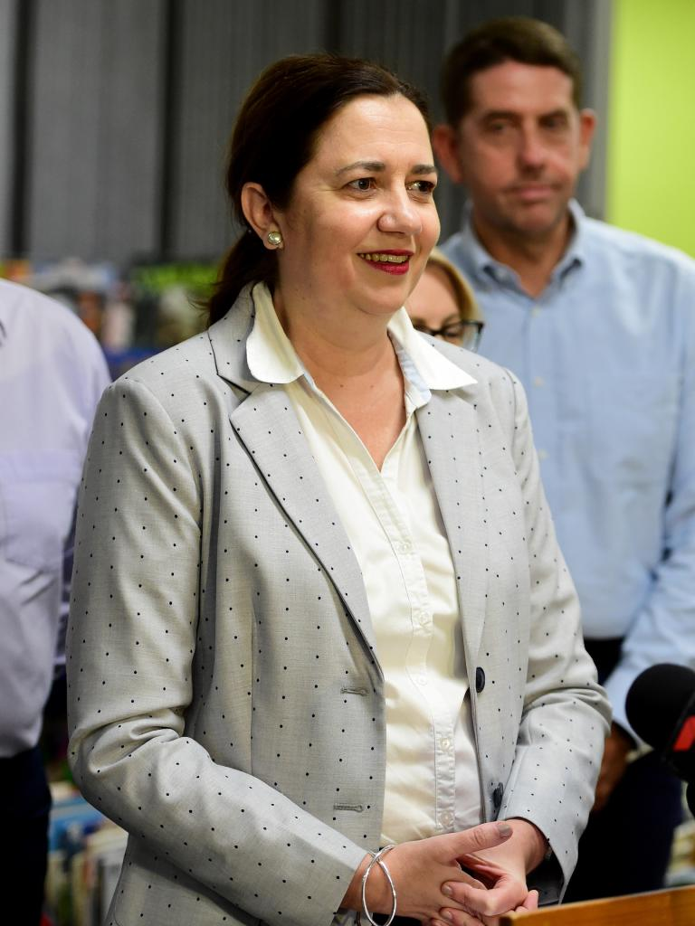 "Premier Annastacia Palaszczuk: ""In some instances, it is hard to do so in terms of getting the qualified staff to some of our more remote locations."" Picture: Evan Morgan"