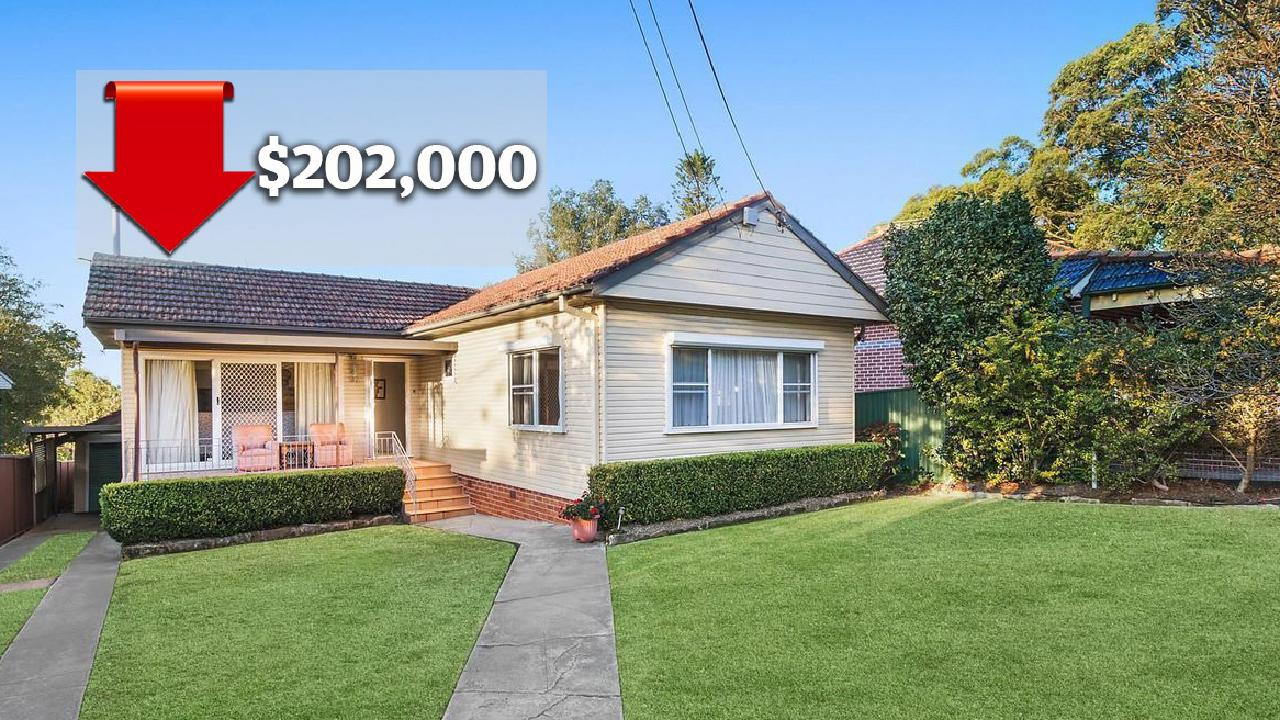 A massive $202,000 was wiped off the value of 97 North Road in Ryde in just 22 months. Picture: realestate.com.au