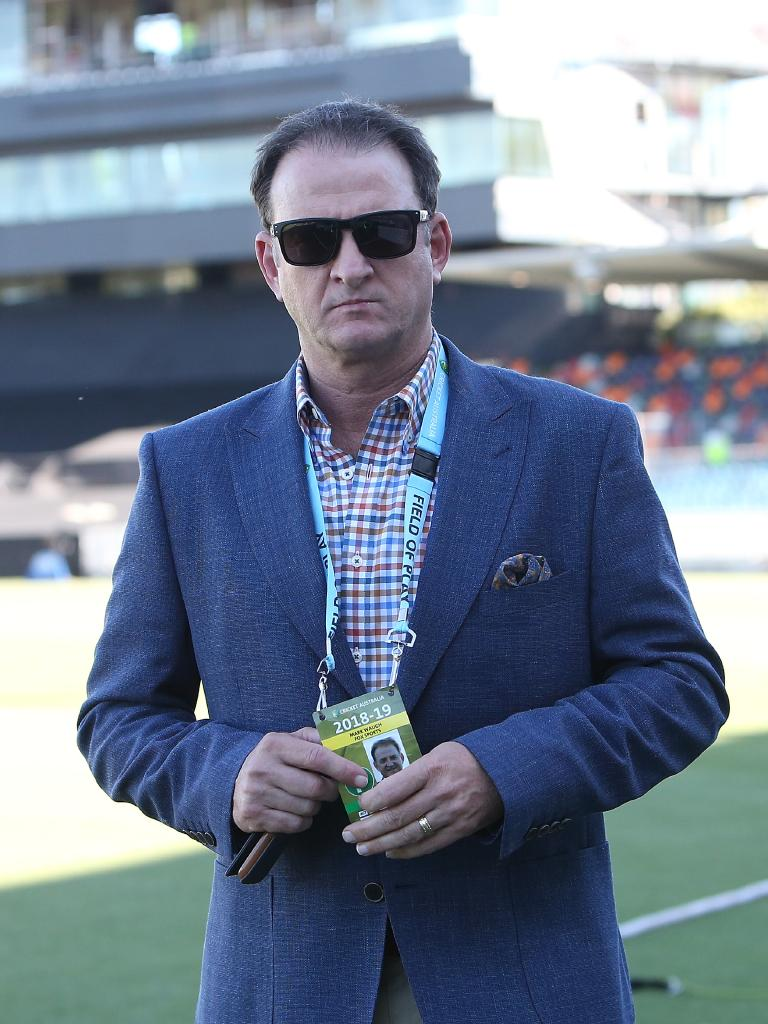 Mark Waugh has been critical of Wade in the past. Picture: Kym Smith