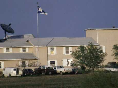 The Branch Davidians' Mount Carmel compound outside of Waco, Texas. Picture: Greg Smith