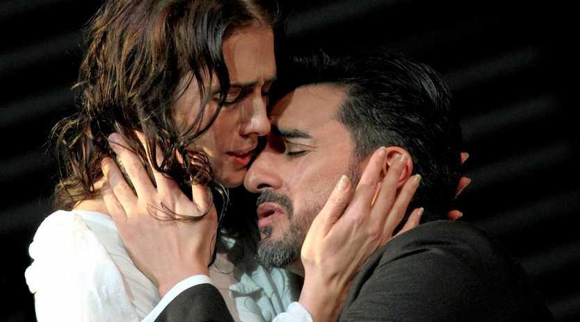 GREAT OPERA: Ermonela Jaho as Violetta Valéry and Charles Castronovo as Alfredo Germont in the opera La traviata.