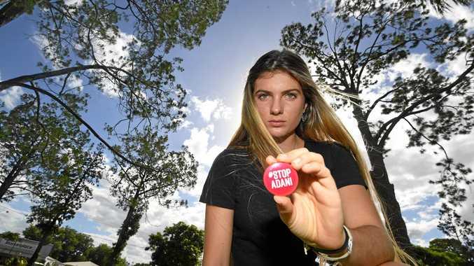 Gympie climate change protestor Shellie Joseph.