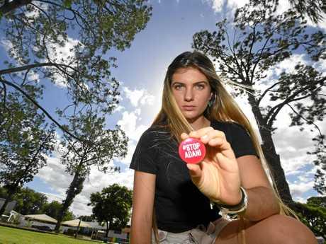 Gympie Protestor Shellie Joseph