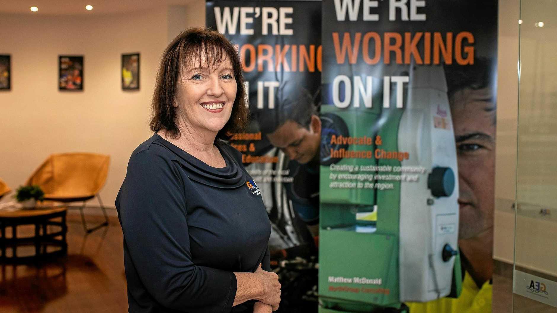 Gladstone Engineering Alliance acting chief executive officer Julie Gelder.
