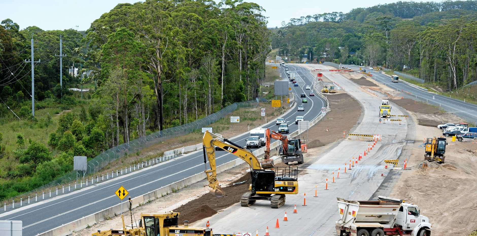 Pacific Highway work continues