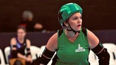 ROLLING ON: Tonie Rolfe has been selected for the Australian roller derby team for the World Roller Games in Spain.