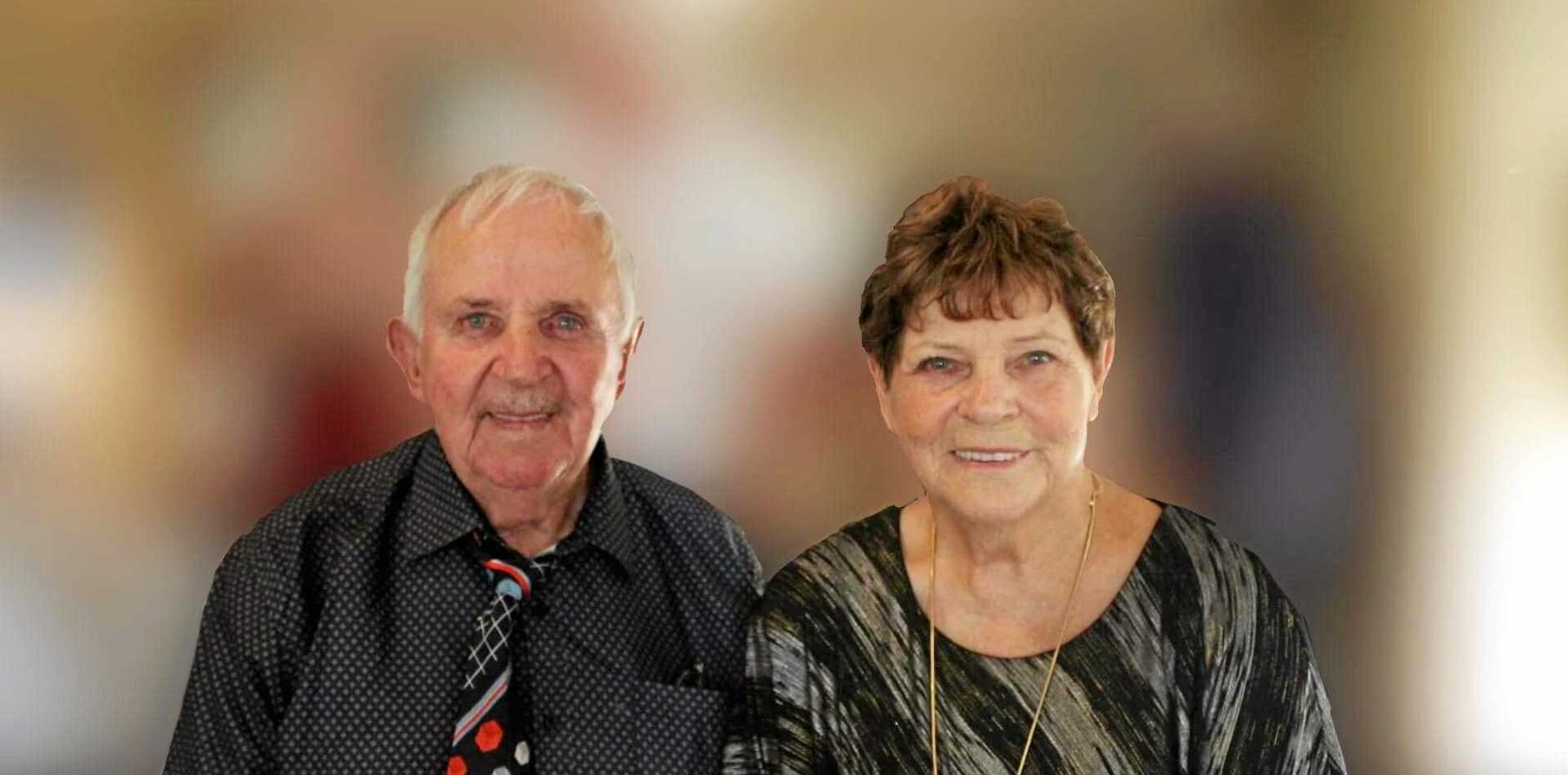 DIAMOND ANNIVERSARY: Eric and his wife Violet celebrated their 60th wedding anniversary on February 15, 2019.