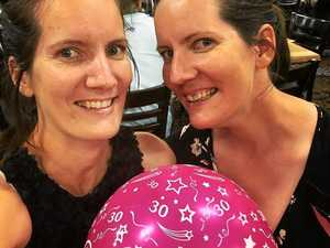 Twin sisters share 30 years of secrets