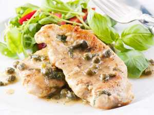 Tangy Chicken Piccata with capers