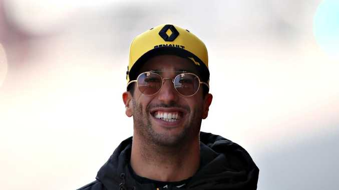 Daniel Ricciardo looks happy with his choice to move on from Red Bull.