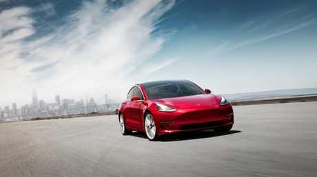 Tesla's Model 3 will bring advanced driver aids when it reaches Australia in 2019.