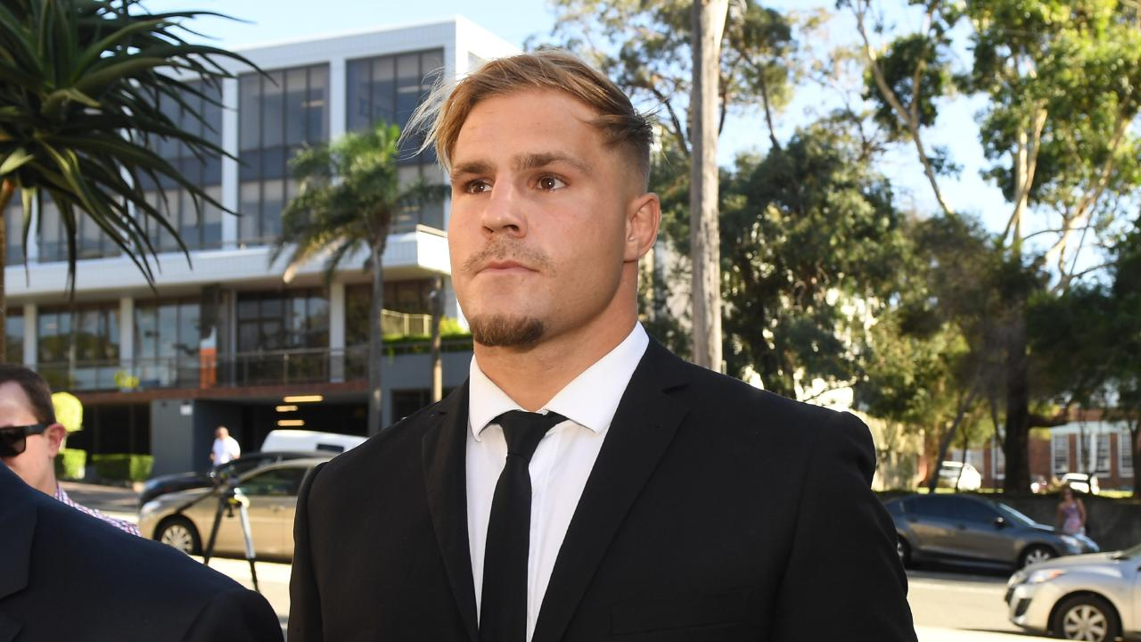 Jack de Belin is another who may be stood down before the season begins. (AAP Image/Dean Lewins)