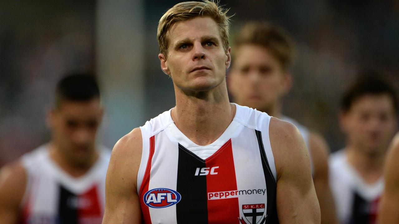 Former St Kilda captain Nick Riewoldt. Picture: Daniel Wilkins