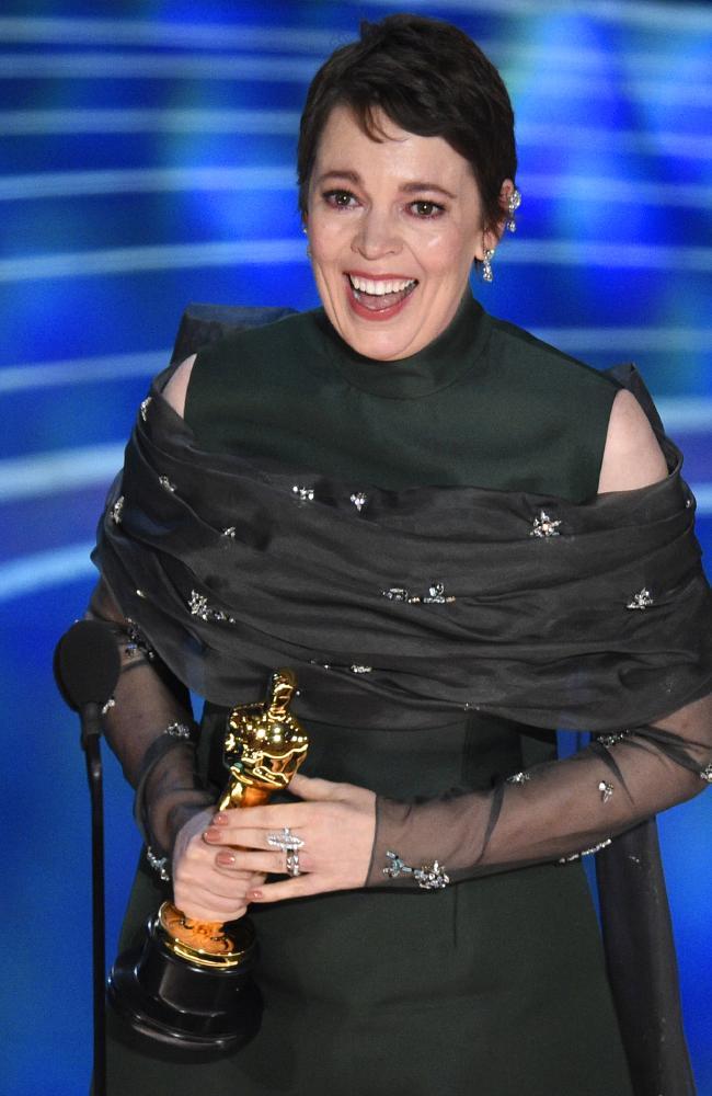 Olivia Colman. Picture: AP