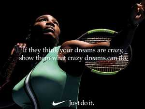 Serena blows minds in defiant Nike ad