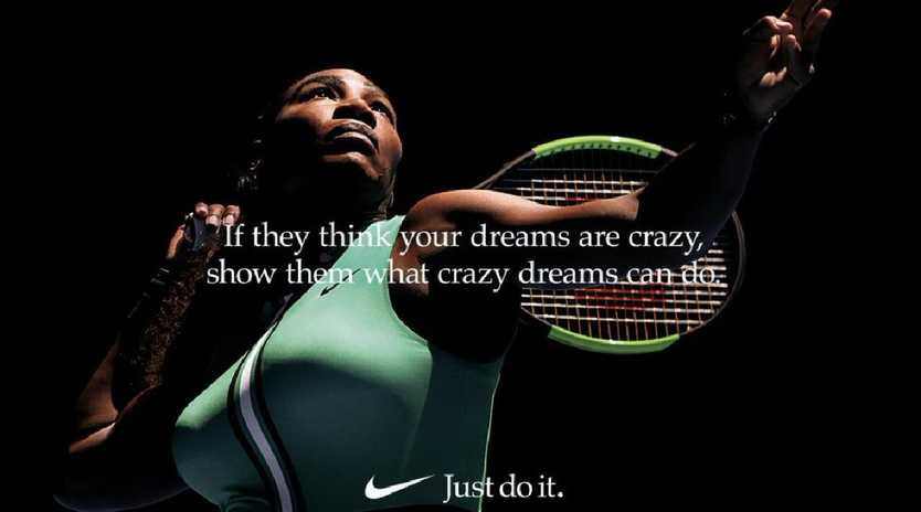 Serena Williams delivers a powerful voice over for the new Nike campaign