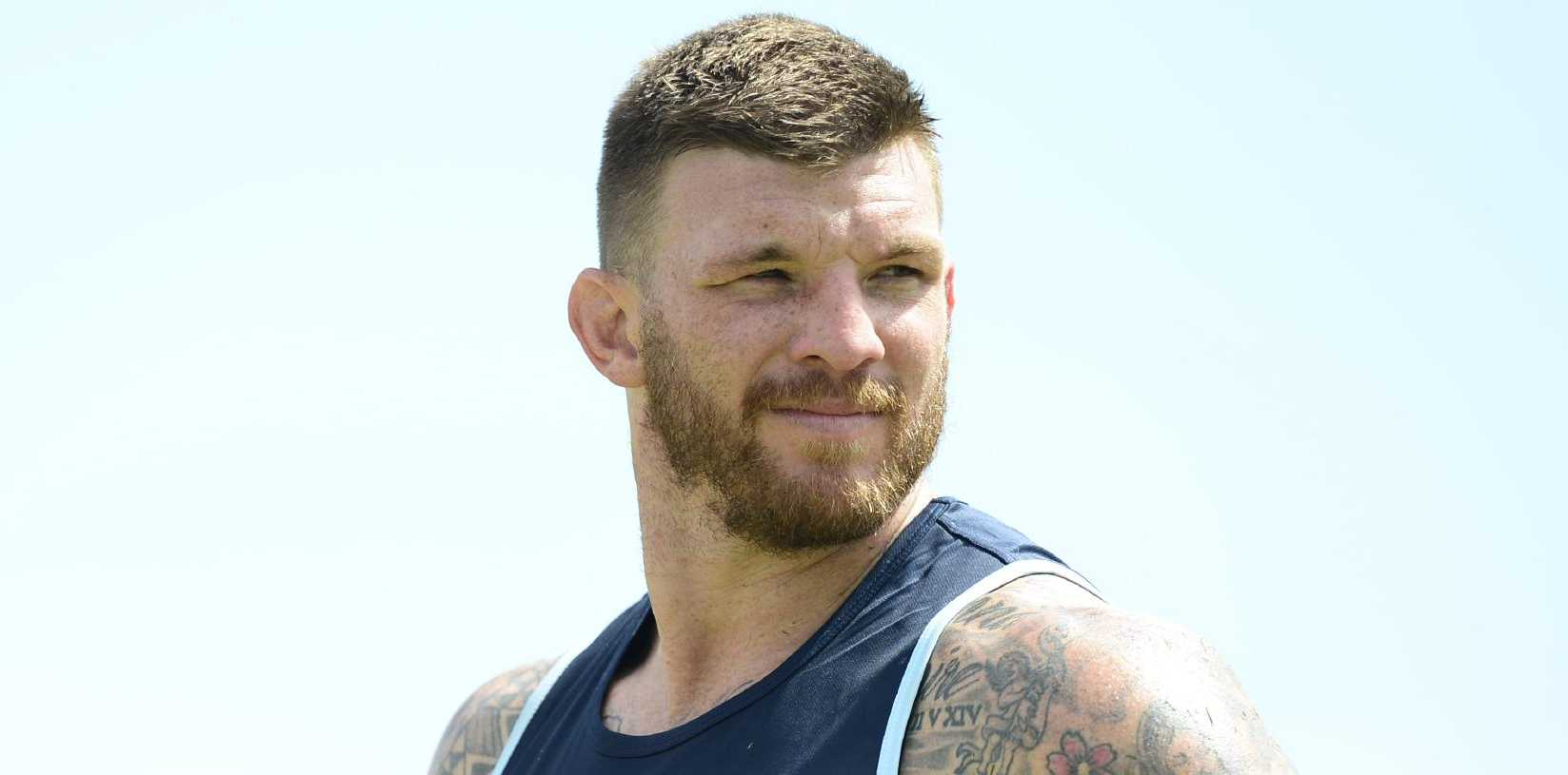 North Queensland Cowboys training from 1300 Smiles Stadium. Josh McGuire. Picture: Zak Simmonds