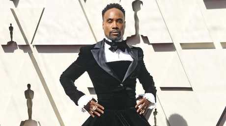 Business on the top and party on the bottom from Billy Porter.
