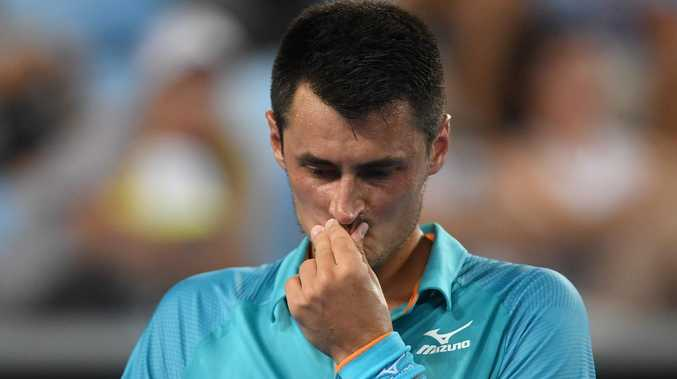 Bernard Tomic has pulled out of the Mexican Open. Picture: AAP