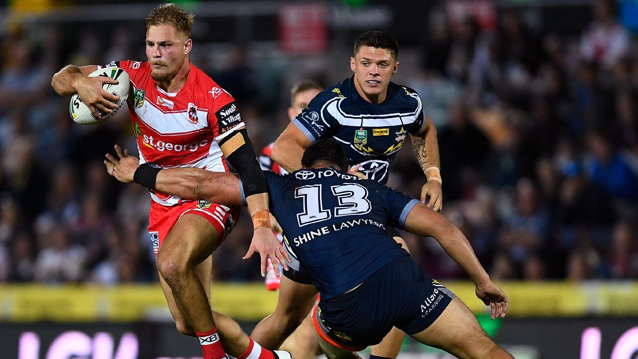 The NRL is considering standing de Belin down. Picture: Getty Images)