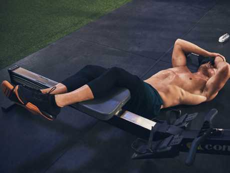 The Adelaide athlete trains like a beast and has a diet to match. Picture: Under Armour