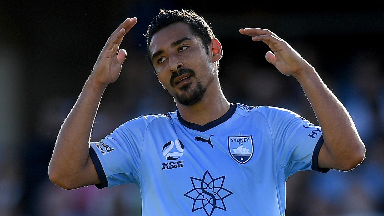 Reza Ghoochannejhad has yet to find the back of the net for Sydney.