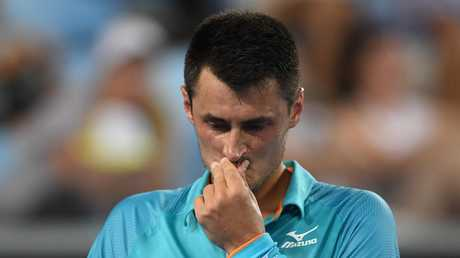 Bernard Tomic failed to make the main draw at Indian Wells. Picture: AAP