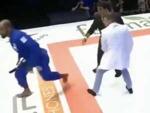 Black belt loses fight then attacks fans