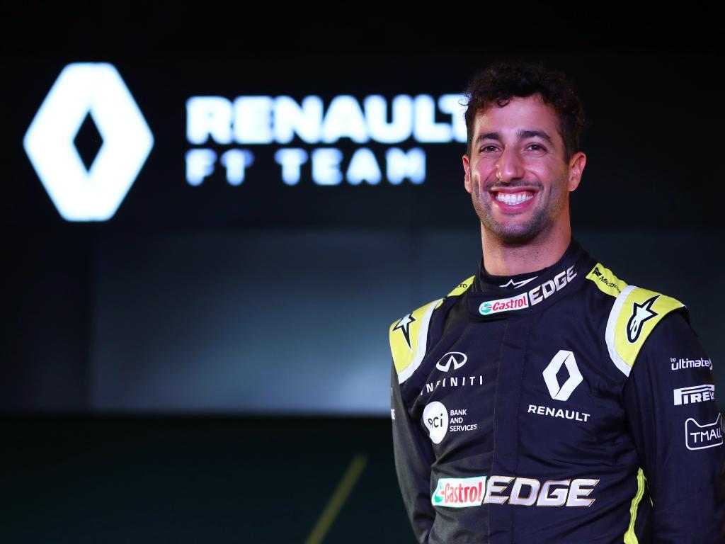 Daniel Ricciardo is feeling at home at Renault.