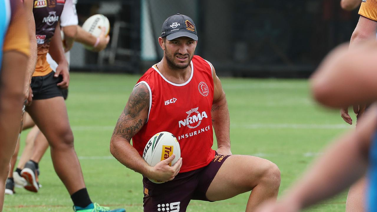 Gillett has been eyeing a return in Brisbane's final trial for many months. Picture: Liam Kidston
