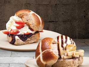 Toowoomba cafe debuts loaded hot cross buns