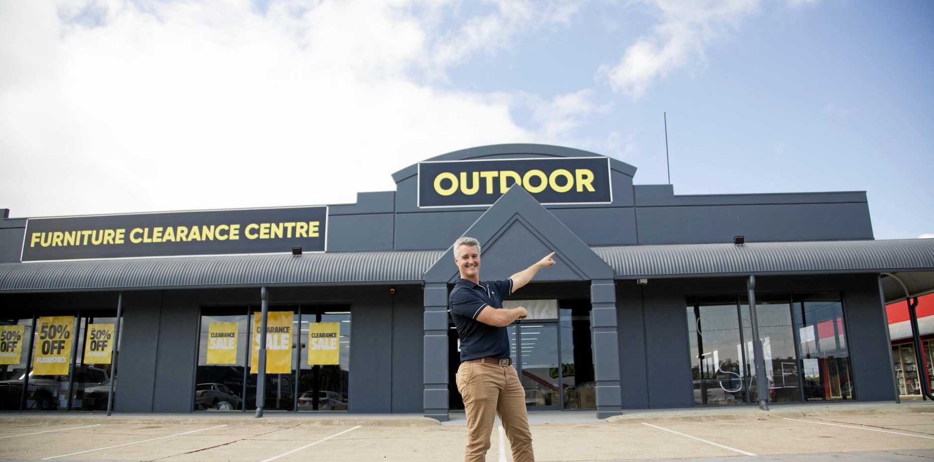 Forty Winks Hervey Bay owner Adam Healey and his team of dedicated staff have worked tirelessly for weeks moving the store from Eli Waters to the new shop front at Boat Harbour Dr, Pialba.
