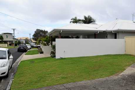 Mooloolaba resident Tim Ryan's carport encroaches on Sunshine Coast Council's boundary setback limits. It was built without approval.
