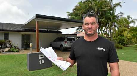Nathan Slonim recently moved up from Sydney and is having a major drama with council over his carport. Neighbours have no issue with it, but council want him to concrete a large part of his front yard and move the carport in front of their bedroom, as they say it dominates the streetscape.