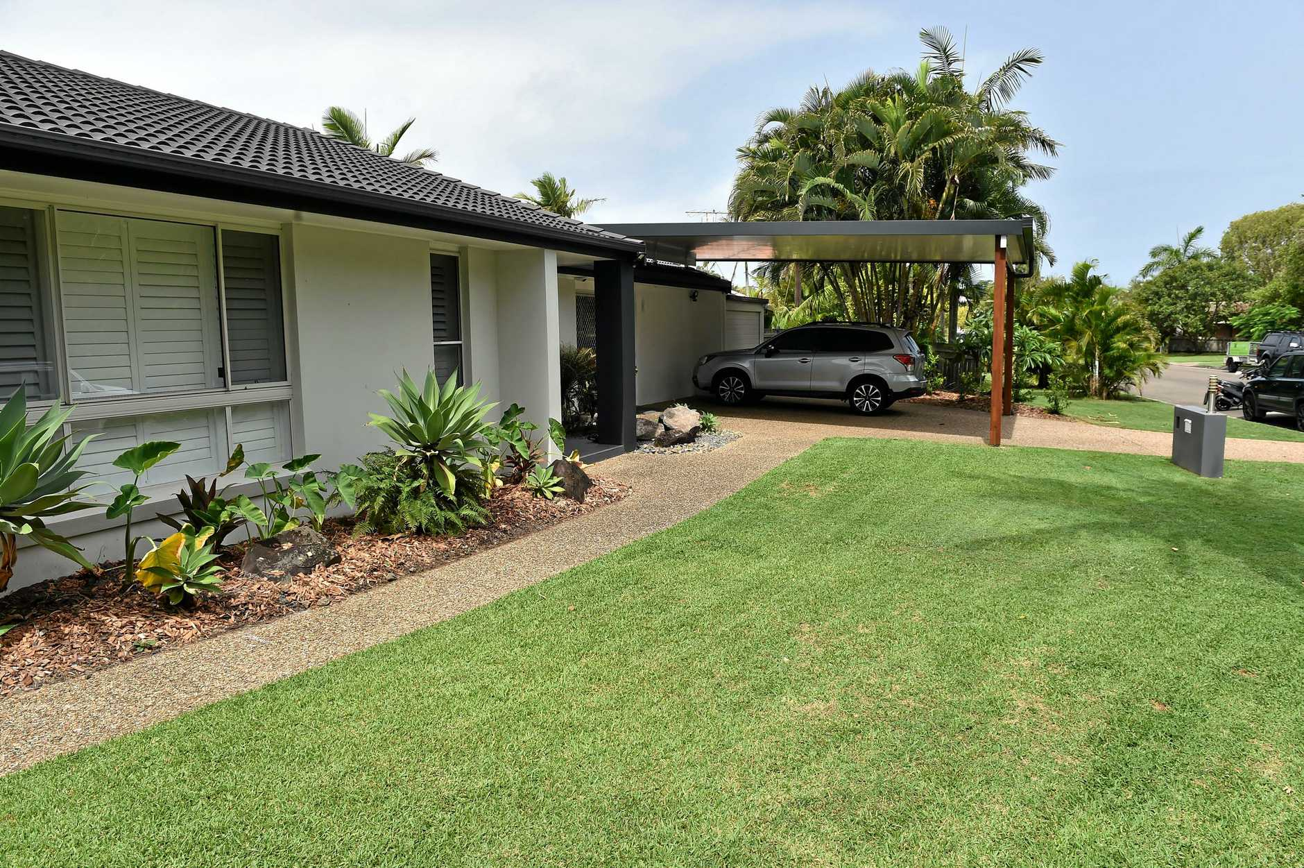 Nathan Slonim recently moved up from Sydney and is having a major drama with council over his carport. Neighbours have no issue with it, but council want him to concrete 95% of his front yard and move the carport in front of their bedroom, cant understand why theyre not promoting more green space.