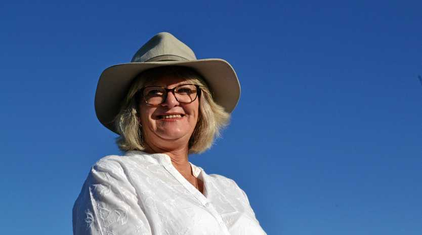 BATTLE GROUND: Maranoa Labor candidate Linda Little knows she up against a tough field.