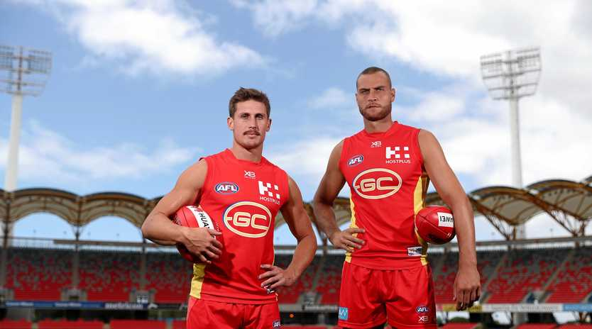 David Swallow and Jarrod Witts will lead the Suns in 2019.