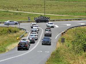 Road changes drive Centenary traffic east