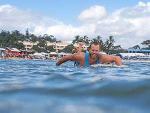Sand loss hits Noosa Festival of Surfing