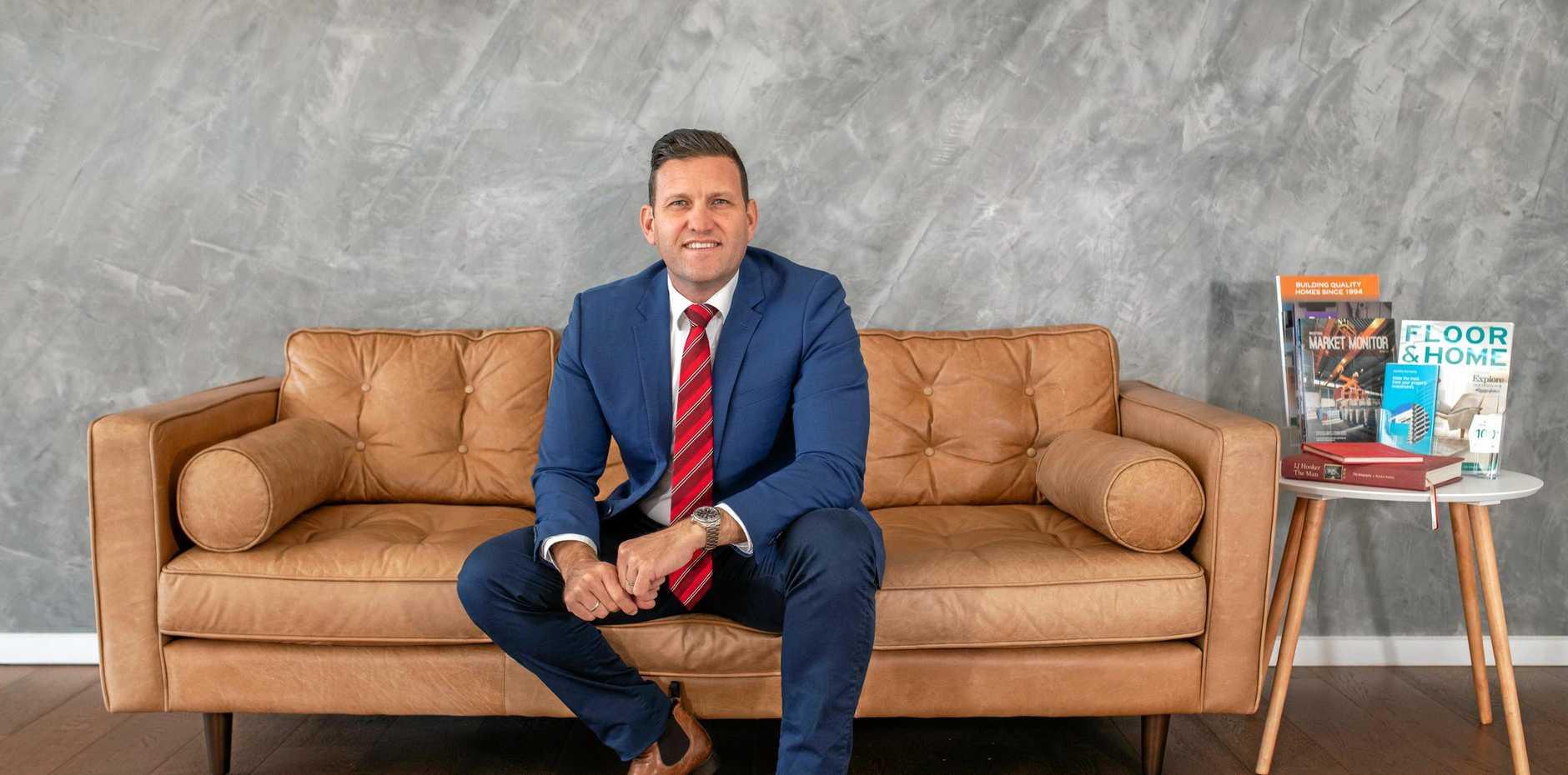 POSITIVE PROPERTY: LJ Hooker Bundaberg Principal Jonathon Olsen said there has been improvement in the rental market.