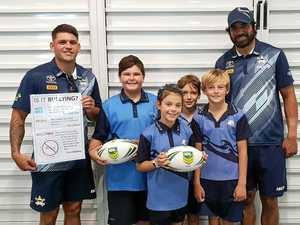 Cyber-savvy Cowboys cement digital safety message at Kawana