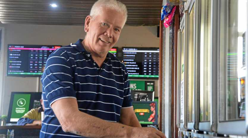 BUSY START TO 2019: Bruce Garrod from Kingaroy Hotel Motel is happy for a busy start to 2019.
