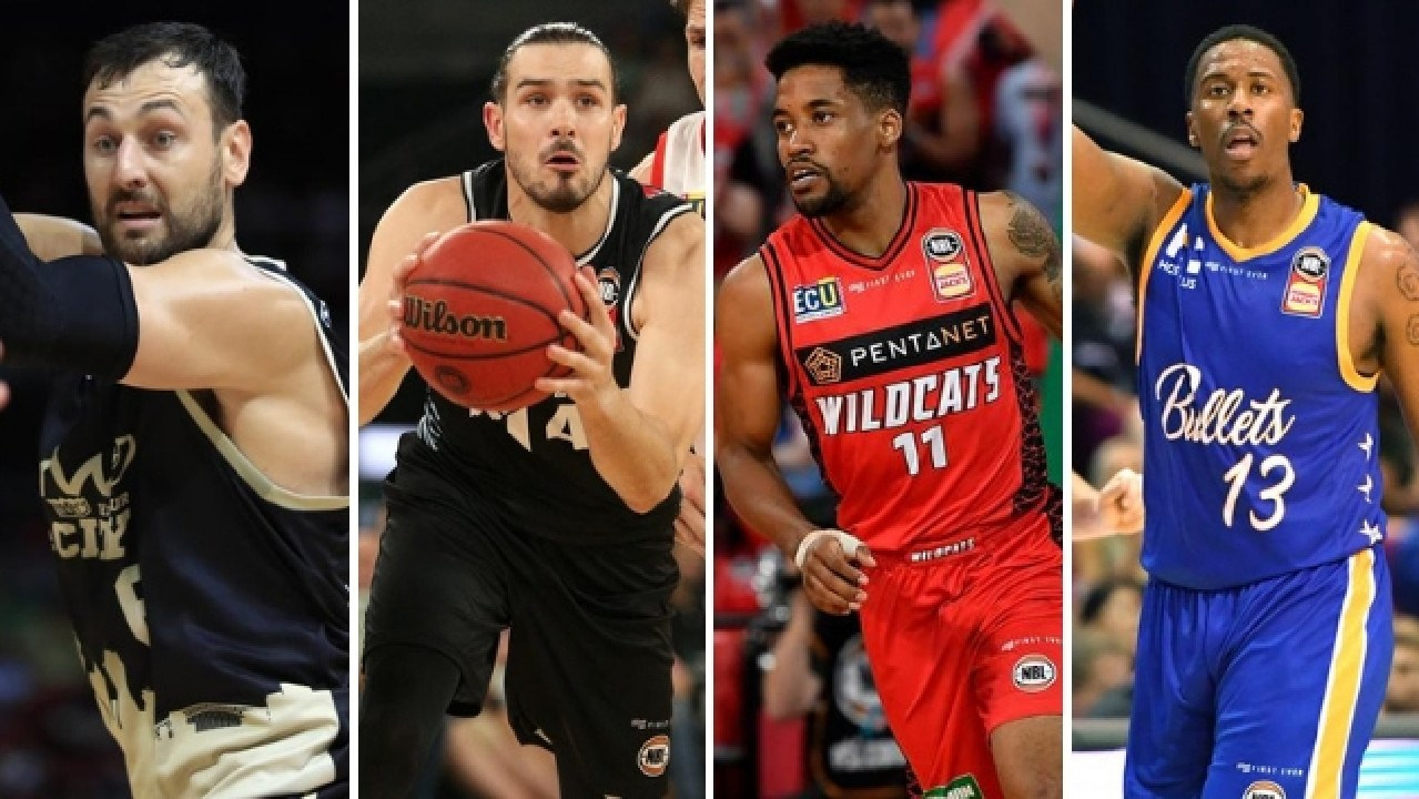 Melbourne United's Chris Goulding, Sydney King Andrew Bogut, Perth Wildcat Bryce Cotton and Brisbane Bullet Lamar Patterson are set to light up the NBL Finals.
